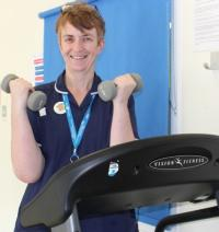 In conversation with Karen, physio nurse, animal lover and body pump instructor