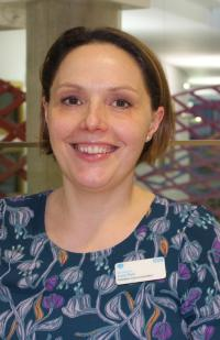 In Conversation With...our palliative care consultant Lucy Pain, who spent some of her early weeks in a university desk drawer!