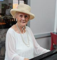 In Conversation With...our piano playing volunteer Patricia Ashford