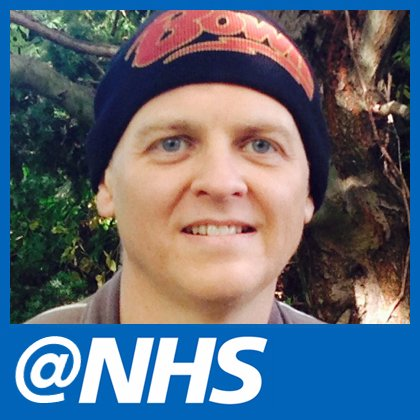 First user of @NHS, Richard