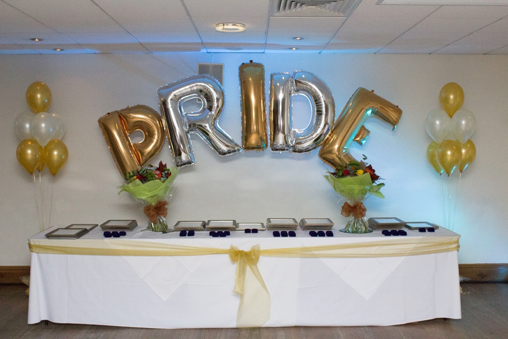 PRIDE awards celebration 2016