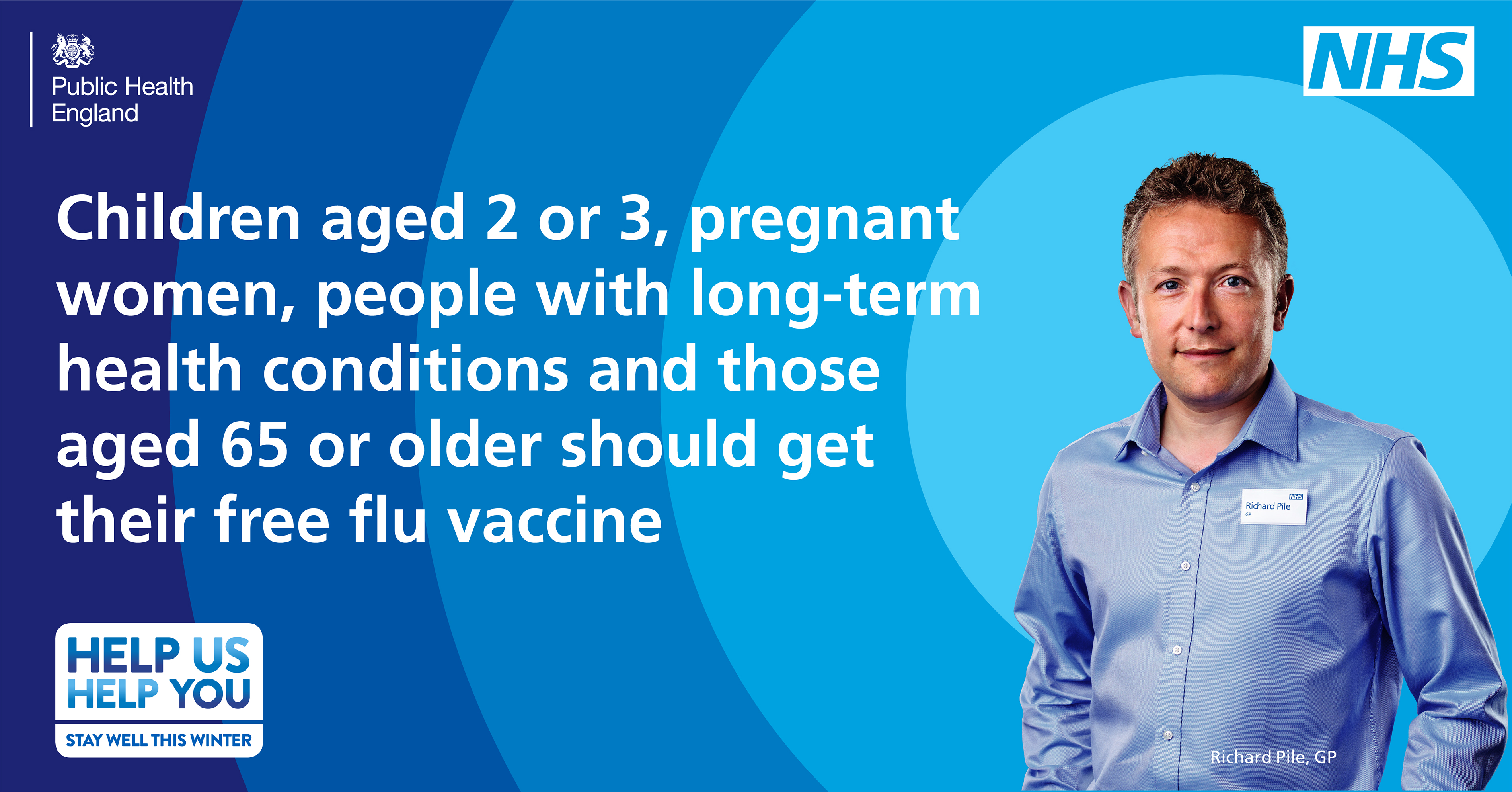 Get the flu jab to protect yourself and those around you