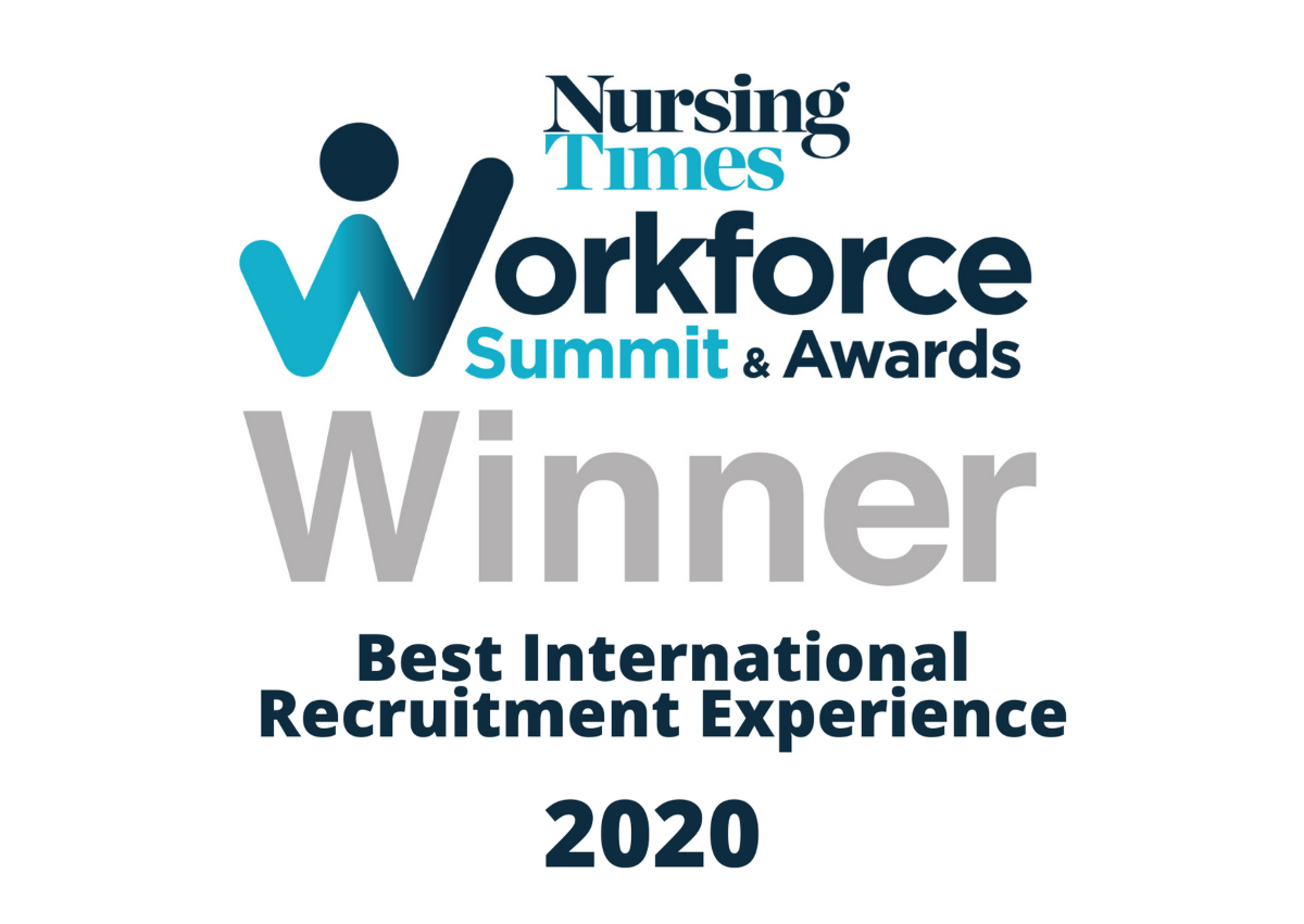 Best International Recruitment Experience 2020
